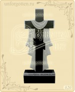 Памятник из гранита вертикальный №020