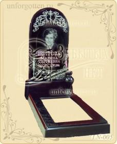Памятники из литьевого мрамора №LN-005