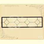 Металлическая ограда №16