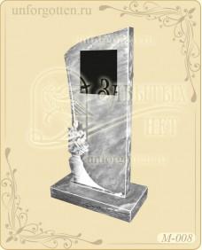 Памятники из натурального мрамора №M-008